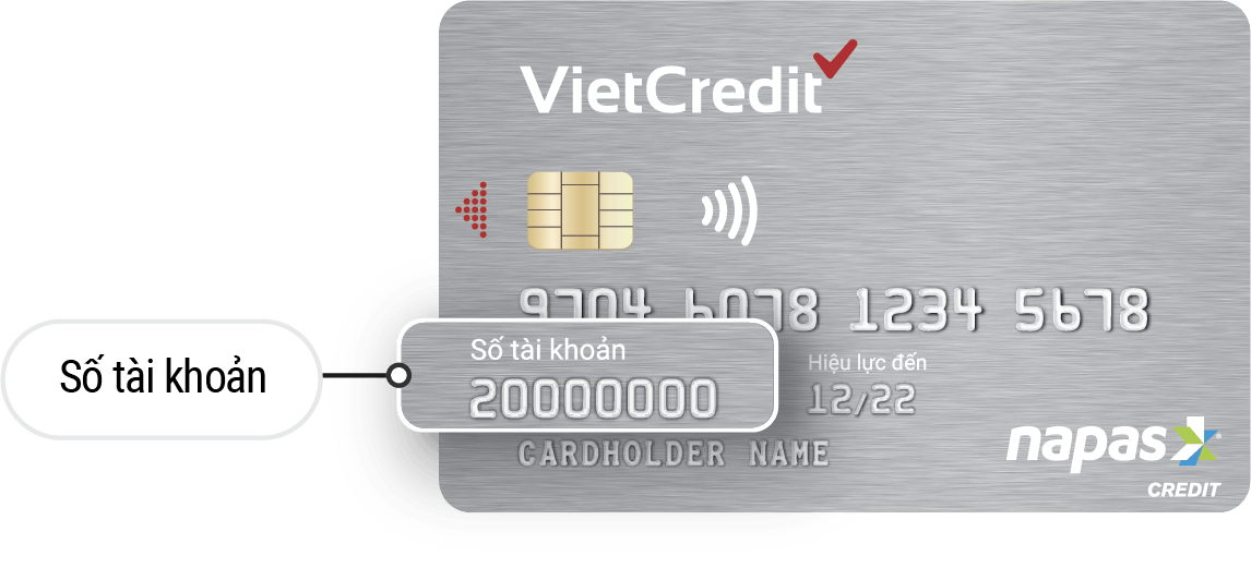 Thẻ chip VietCredit